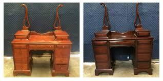Wood Furniture Refinishing Antique Vanity Refinishing Fort Worth TX