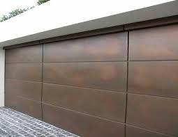 metal garage doorsmetal pannel garage door contemporary  Sectional overhead garage