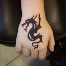 временная татуировка рисунок хной дракон временная та Flickr
