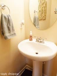 Diy Bathroom Faucet How To Install A New Bathroom Faucet In A Pedestal Sink Moendiyer