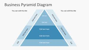Mlm Hierarchy Chart Free Business Pyramid Diagrams For Powerpoint