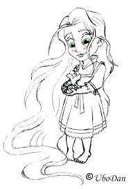 tangled coloring pages coloring page coloring pages princess coloring pages baby princess colouring pages tangled coloring