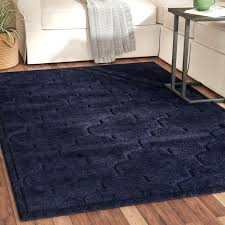 navy blue area rug rugs 5x7 home
