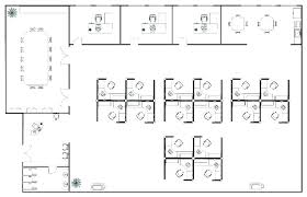 Office Layout Plan Floor Plans Cubicle Template