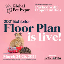 Global Pet Expo - ? The 2021 Exhibitor Floor Plan is live!...