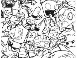 Nickelodeon Coloring Pages 90s Cartoon Coloring Pages Google Search