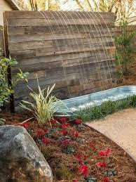 build a wall fountain yard crashers water feature wonderland water walls diy network