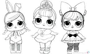 Toys Coloring Pages Doll Colouring Smiling Best Place To Toys
