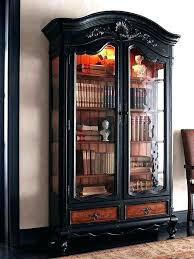 antique bookcase with glass door bookcase for book shelves on bookcase glass bookcases for