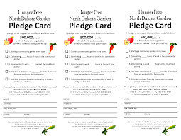 pledge card template word template pledge card template word