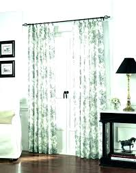 door privacy curtain french covering ideas patterned glass