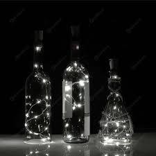 1m 10 Led Lamp Fles Kurk Waterdichte Zonne Energie Wire String Light