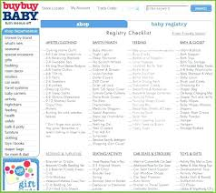 Child Registry Guidelines Baby Checklist Basic Easy – Hardimplosion