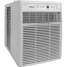 Through The Wall Heating And Cooling Units Frigidaire Ffrs1022r1 Energy Efficient 10000 Btu 115v Slider