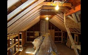 Pictures Of Finished Attics Attic Remodel With Dormer Youtube