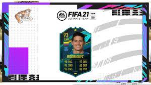 FIFA 21 James Rodriguez Player Moments SBC Cheapest…