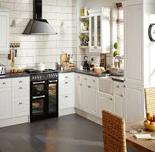 BQ IT Chilton White Country Style Kitchen comparecom Home
