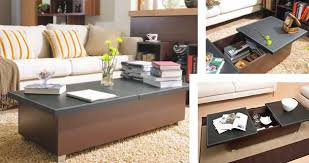 folding furniture for small homes. 14 coffee table with storage folding furniture for small homes n