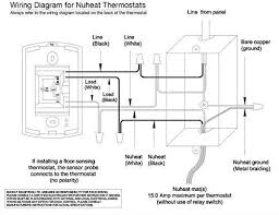 nuheat home thermostat. Simple Thermostat Nuheat Home Radiant Floor Heating Dual Voltage Progamble Thermostat By  Inside T