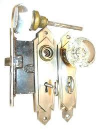 door mechanism gl door s with locks gl door sets hardware antique restoration old door mechanism