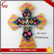 hot resin church cross for wall decor