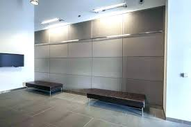 corrugated steel wall panels garage covering interior design insulated metal walls decorative double boar