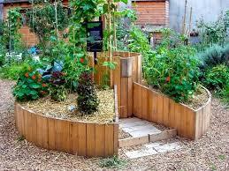 keyhole garden design raised bed