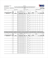 Certified Payroll Template Templates California Excel Free Form