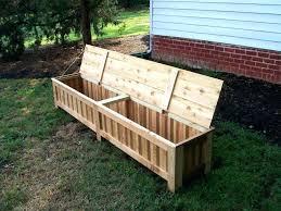 wooden storage bench outdoor outdoor cushion storage bench chair storage outside deck storage box deck furniture