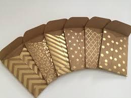 Kraft Envelopes Set Of 12 Mini Envelopes Gift Card Etsy