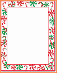 019 Christmas Stationery Templates Word Free Awesome