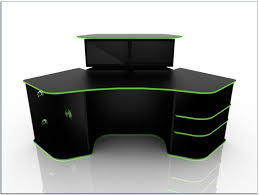 corner gaming desk home desks ideas hash throughout remodel 19