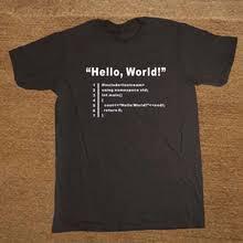 Buy hello world <b>shirt</b> and get free shipping on AliExpress - 11.11 ...