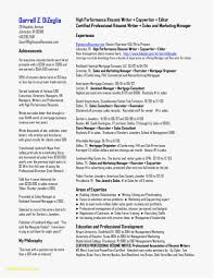 Maintenance Resume Sample New 25 Electrician Resume Sample Free