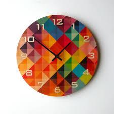 Kitchen Wall Clocks Modern Cool Kitchen Wall Clocks Best Decor Things