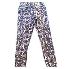 Patterned Yoga Pants Interesting Fabletics Pants Patterned Yoga Poshmark