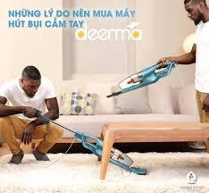 iHomeStore - Điện Máy Thông Minh - NHỮNG LÝ DO NÊN MUA MÁY HÚT BỤI CẦM TAY  DEERMA 💥 Máy hút bụi cầm tay Deerma sử dụng dễ dàng và nhanh chóng,