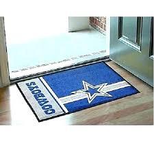 dallas cowboy area rug cowboys post football field runner 8x10