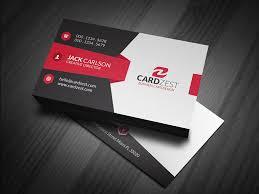 Free Business Card Templates Cardzest