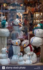 Ukraine Lviv December 6 2018 Christmas Shop Window In