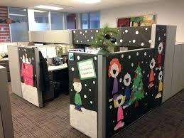 christmas office door decoration. Office Door Decorating Ideas For Christmas Decorations Pictures Desk In Cubicle Decoration A