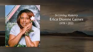 Erica Dionne Gaines - Tribute Video