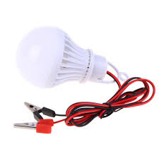 Dc 12v 5w Led Bulbs Lamp Tent Lighting Cool White Environmental For