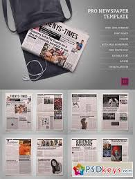 Newspaper Template For Photoshop Pro Newspaper Template 453135 Free Download Photoshop Vector Stock