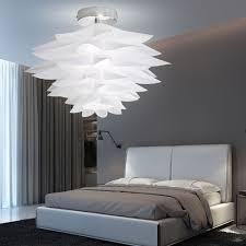 Decken Leuchte Chrom Weiß Beleuchtung Schlafzimmer Diele Küchen
