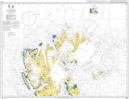 Ocean Charts Admiralty Chart 3136 Arctic Ocean Svalbard Northern Part