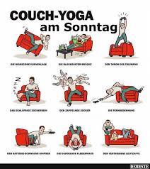 Couch Yoga Am Sonntag Lustige Bilder Sprüche Witze Echt Lustig