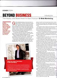 e web marketing interviewed on my business magazine for best tags