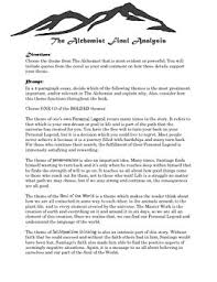 the alchemist teaching resources teachers pay teachers  the alchemist essay the alchemist essay ·