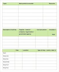 Free Travel Planner Planning Guide Holiday Itinerary Template Free Travel Planner